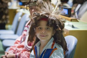 "Permanent Forum on Indigenous Issues (UNPFII15) Theme ""Indigenous peoples: Conflict, Peace and Resolution"""