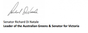 greens signature