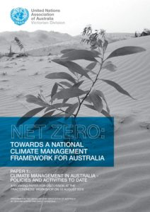 UNAA Current Climate Management in Australia - United
