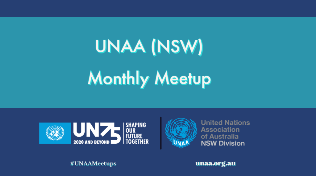 UNAA (NSW) Virtual Monthly Meetup