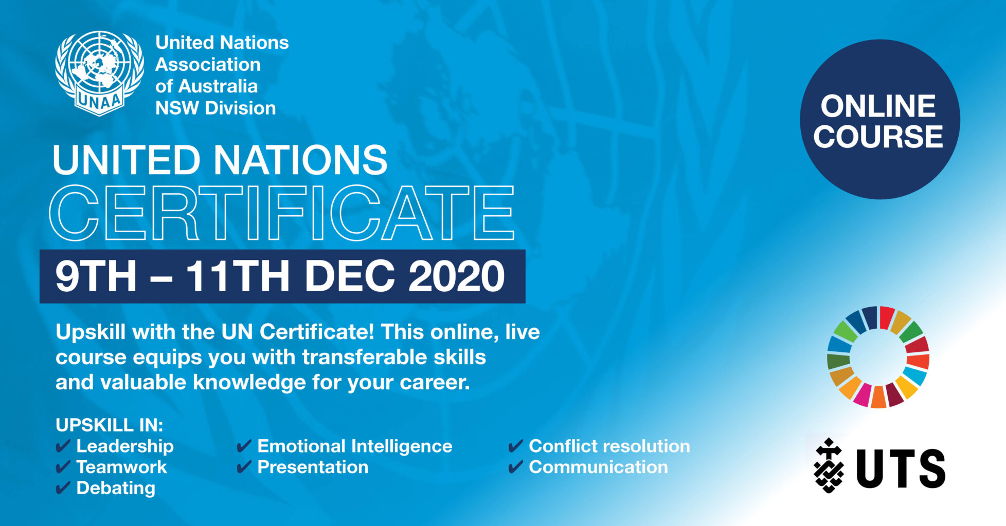 UNAA (NSW) and UTS: United Nations Certificate (Online)