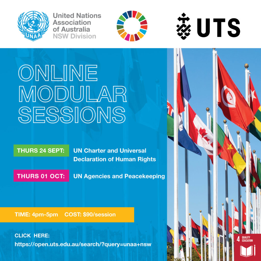 UNAA (NSW) and UTS Open: Introduction and Structure of the United Nations
