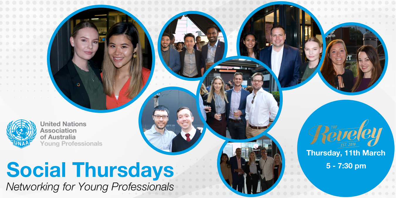 Social Thursdays – Perth YP Monthly Networking