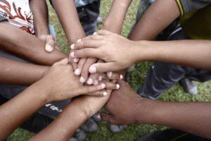 Aboriginal-hands-collaboration