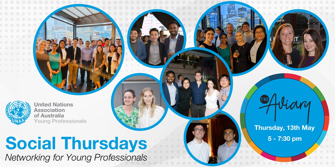 Social Thursdays May – Perth YP Monthly Networking