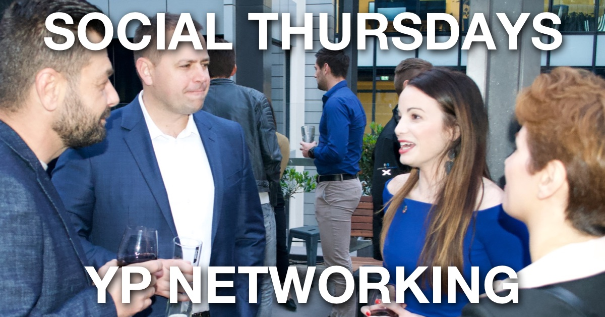 Social Thursdays October – Perth YP Monthly Networking