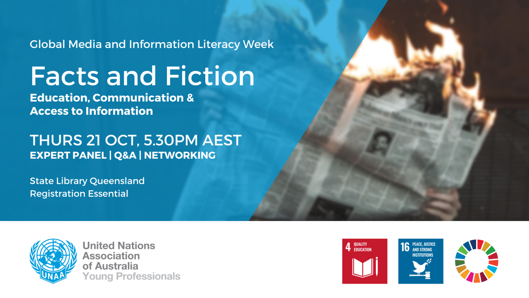Facts and Fiction: Education, Communication and Access to Information